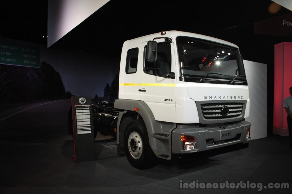 bharatbenz enters nepal with seven new trucks  u2013 iab report